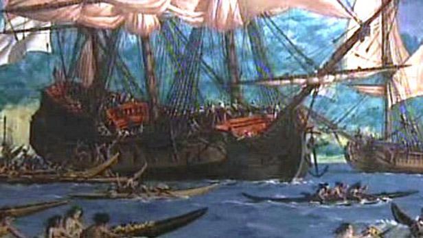 Loď kapitána Jamese Cooka