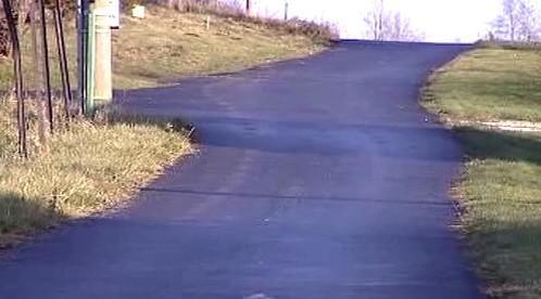 Nová silnice v Heřmanicích