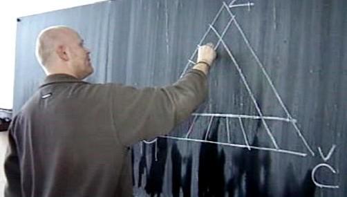 Učitel u tabule