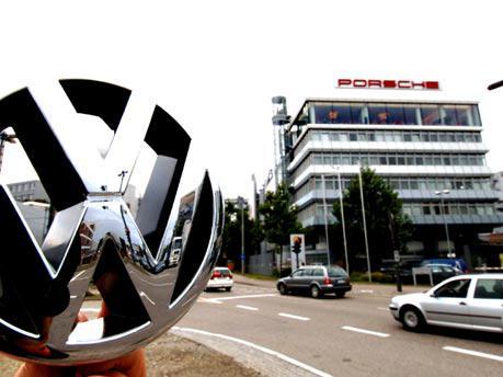 Volkswagen a Porsche