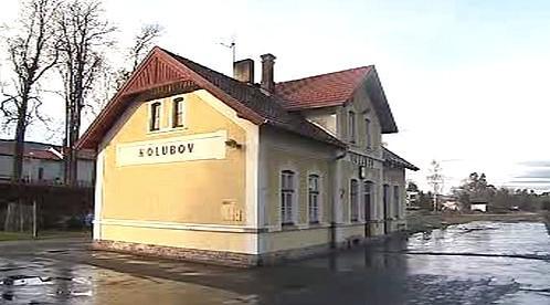 Nádraží v Holubově