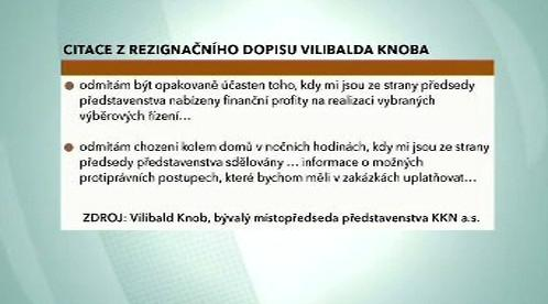 Z dopisu Vilibalda Knoba