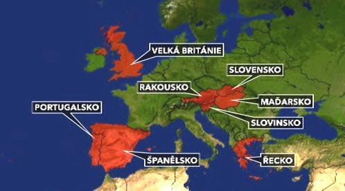 Socialistické vlády v Evropě