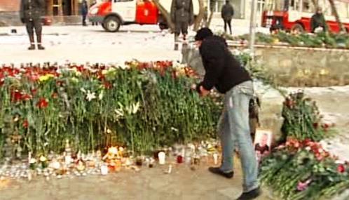 Rusko si připomíná oběti požáru klubu v Permu
