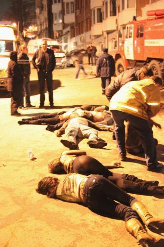 Oběti pořáru v Permu