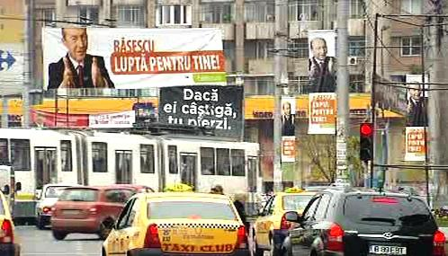 Předvolební kampaň v Rumunsku