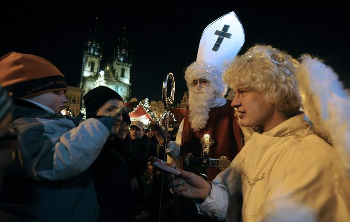 Mikulášské veselí v Praze