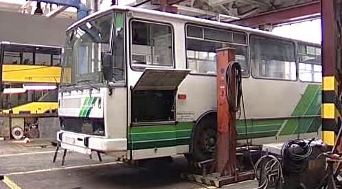 Údržba autobusu