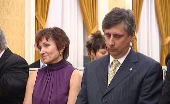 Jan Fischer a Dana Jurásková