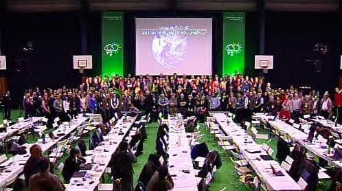 Hromadné foto delegátů kongresu