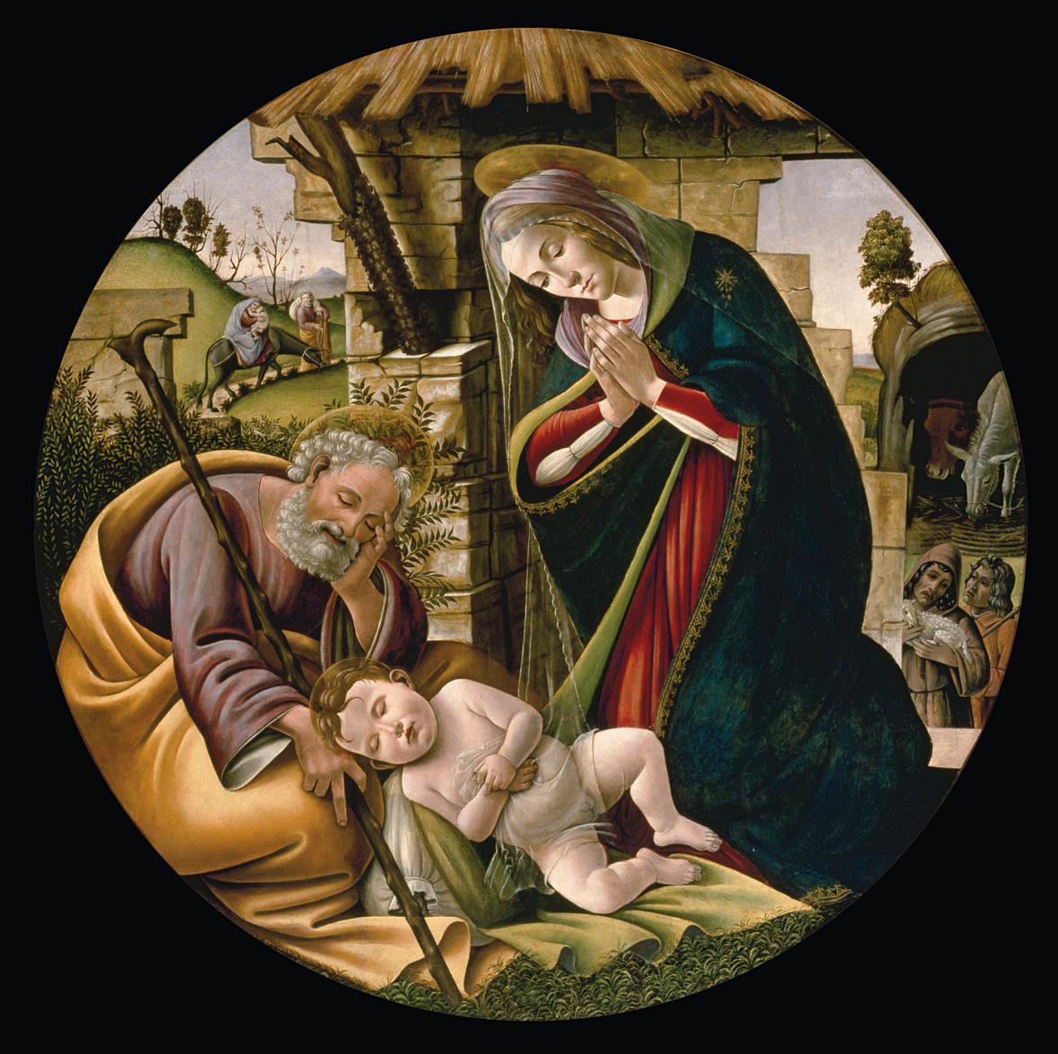 Obraz Sandra Botticelliho