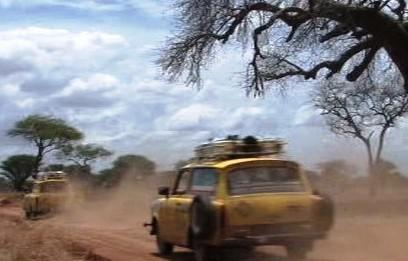 Cesta s trabanty po Africe