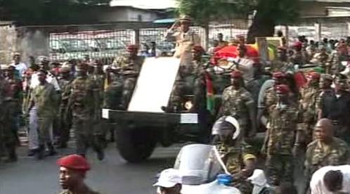 Vojenský režim v Guineji