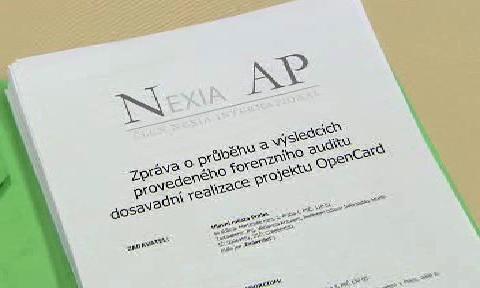 Audit projektu Opencard