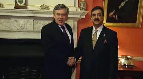 Gordon Brown a Ráza Gílání