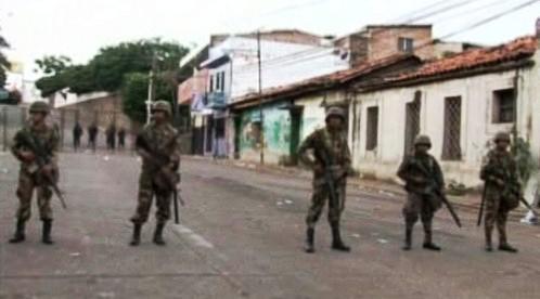 Vojáci v Hondurasu