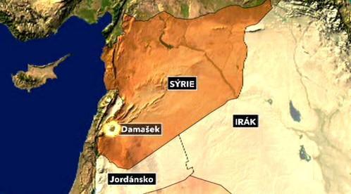 Výbuch v Damašku