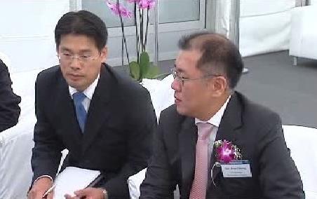 Korejská delegace v Nošovicích