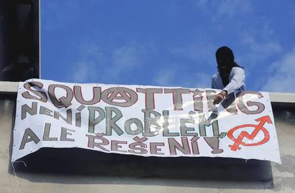 Transparent squatterů