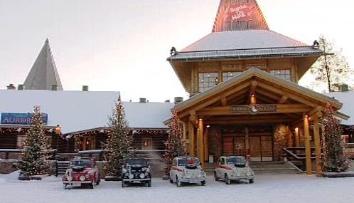 Fiaty 500 přijely ze San Marina do Laponska za Santou