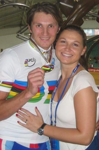 Jiří Bouška s manželkou