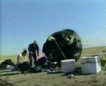 Přistávací modul kosmické lodi Sojuz