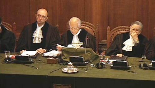 Mezinárodní soudní dvůr OSN v Haagu (ICJ)