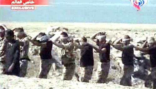 Britští námořníci zadržení v dubnu 2007