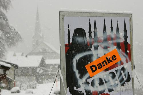Švýcaři se vyslovili proti výstavbě minaretů