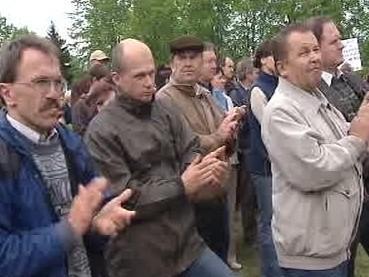 Protestující zemědělci