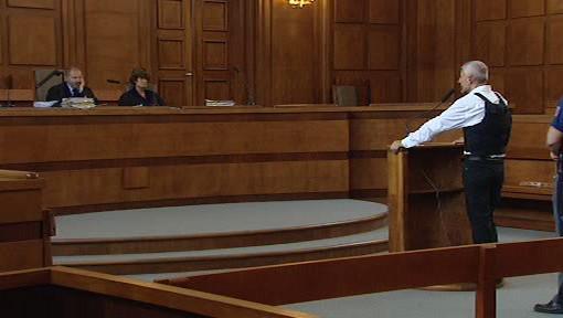 Bohumír Ďuričko před soudem