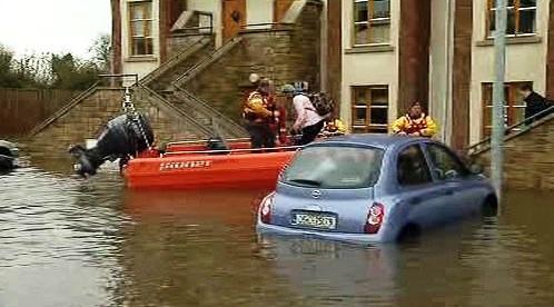 Záplavy v Irsku