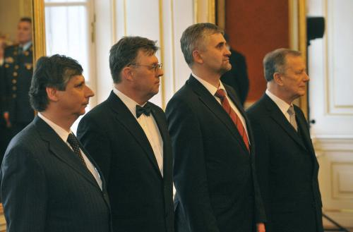 Jmenování nových ministrů