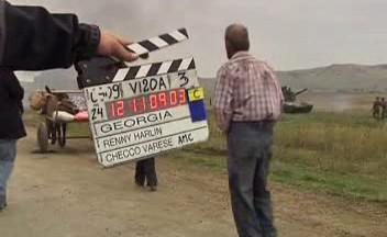 Natáčení filmu o rusko-gruzínské válce