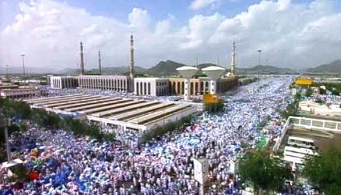 Muslimská pouť v Mekce