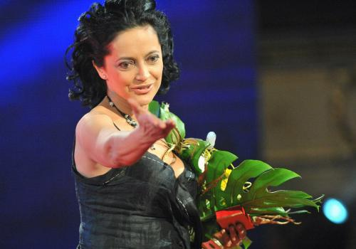 Zpěvačka roku v anketě Český slavík 09 - Lucie Bílá