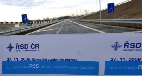 Otevření nové křižovatky u Opatovic