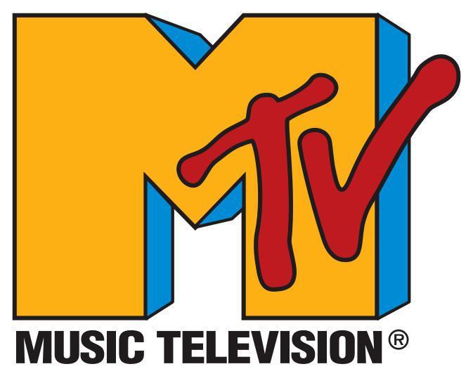 Logo hudební televizní stanice MTV