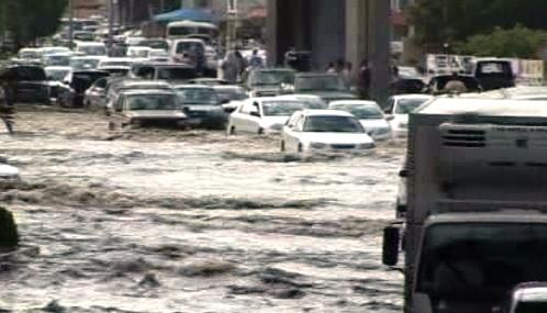 Povodně v Saúdské Arábii