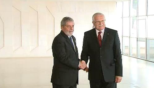 Luiz Inácio Lula da Silva a Václav Klaus