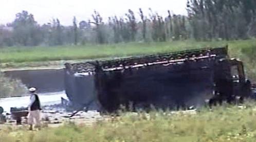 Vybuchlá cisterna