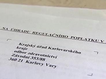 Hrazení poplatků v Karlovarském kraji