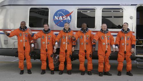 Posádka raketoplánu Atlantis