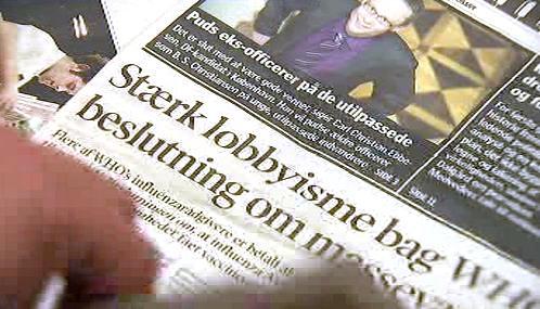 Dánský tisk o lobbistech ve WHO