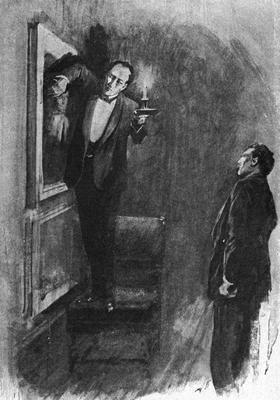 Sherlock Holmes / dobová ilustrace