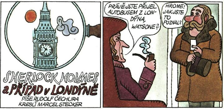 Čtyřlístek / Sherlock Holmes