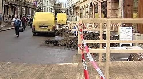 Ulice v rekonstrukci