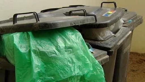 Kontajnery na smíšený odpad