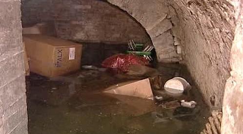 Zaplavený sklep