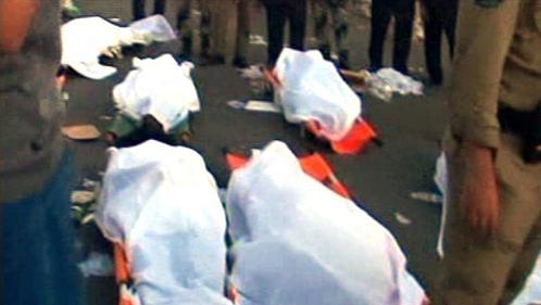 Obětu pouti do Mekky v roce 2006